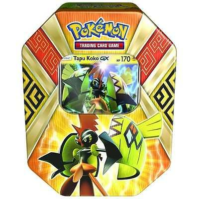 POKEMON SUN & MOON * Island Guardian Tin - Tapu Koko GX