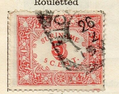 Surinam 1909 Early Issue Fine Used 5c. 154067