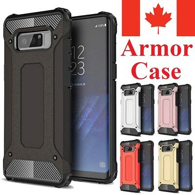 For Samsung Galaxy S8   S8 Plus - Dual Layer Shockproof Armor Tough Cover Case