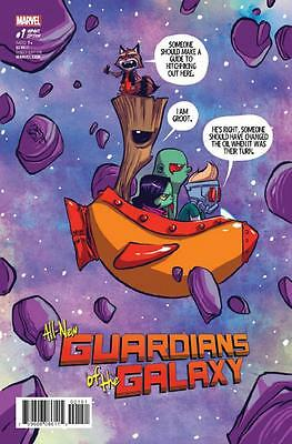 All New Guardians Of Galaxy #1 Skottie Young Babies Baby Variant Incentive