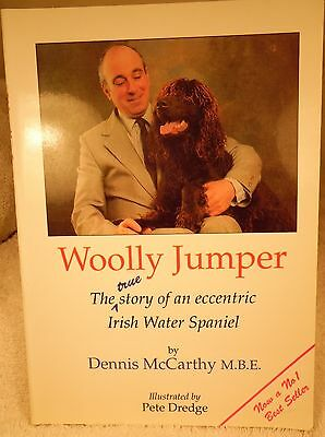 Dog Book WOOLLY JUMPER McCarthy Irish Water Spaniel SCFE3rdPtrg 1992 RARE GREAT