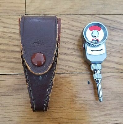 Vintage Walz Mechanical Self Timer with Leather Case Made in Japan