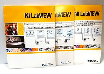NI Labview CD Kit FPGA Module V8.2.1+Real-Time V8.2.1+VI Logger NI-RIO w/Keys