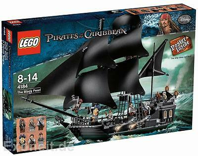 LEGO Pirates of the Caribbean Black Pearl 4184 Brand New (ship from Canada)