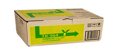 Kyocera Toner TK564Y Yellow Genuine Toner New