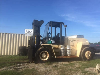Hyster H300XL Forklift 27,650# Capacity 12' Forks Propane 1930 Hours