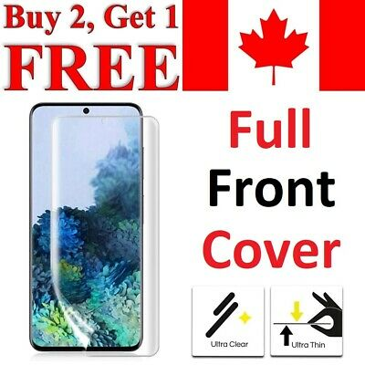 Premium Full Curved TPU Clear Screen Protector For Samsung Galaxy S8 & S8+ PLUS