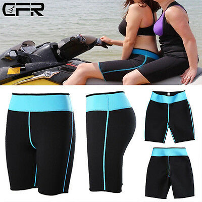 Womens Sports Neoprene Beach Shorts Surf Board Swim Shorts Trunks Short Pants AP