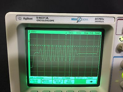 54621A 2-Channel 60 MHz Oscilloscope - Agilent