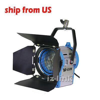Halogen Lamp Film 650W Fresnel Tungsten Spot Light Studio  Fit Arri Bulb