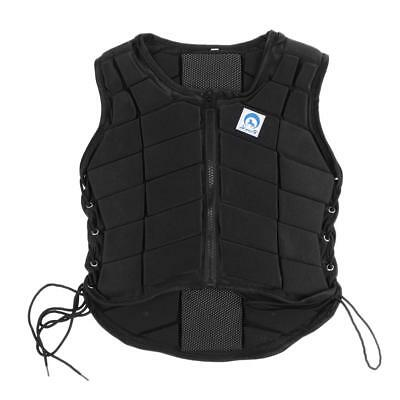 Adult Child Equestrian Horse Riding Lightweight Back Brace Body Protector Vest