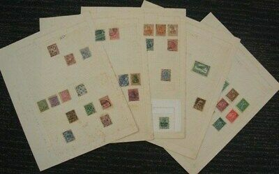GERMANY MOSTLY USED COLLECTION ON ALBUM PAGES (x45) 1870's-1950's (ID:C291)