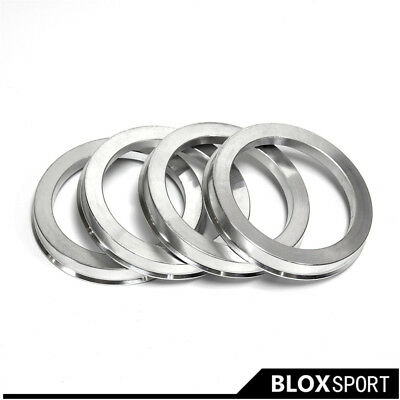 Wheel Rings For VW Audi A set of 4 Hubcentric Ring center bore ring 66.5 to 57.1