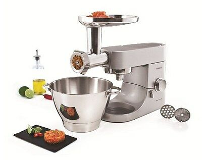 NEW Kenwood AT950A ATTACHMENT for Multi Food Grinder, Silver
