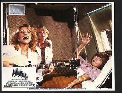 Airplane Lobby Card #2-1980-Robert Hays and Julie Hagerty