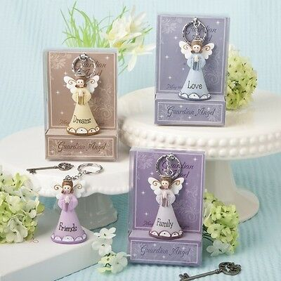 48 Guardian Angel Key Chains Baby Shower Gift Favors