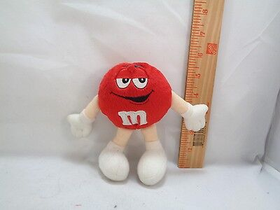 Red Small M&m Mars Candy Plush Stuffed M And M Character Toy 5""