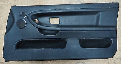 BMW 3' E36 318is Coupe Front Door Trim/Cards Black OEM