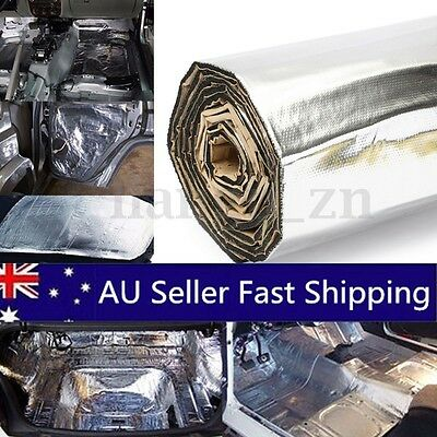 43sqft Car Sound Noise Deadener Insulation Mat Heat Proof Deadening Material