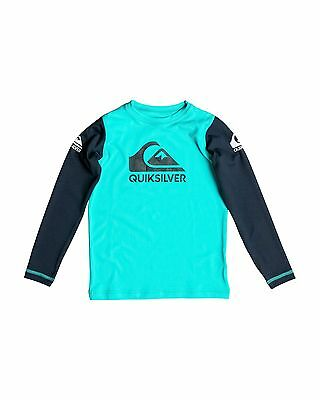NEW QUIKSILVER™  Boys 2-7 Heats On Long Sleeve Rash Vest Boys Children