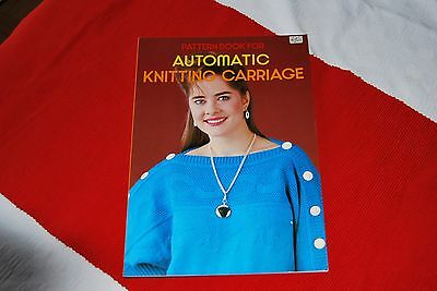 Musterbuch für Brother KG-Schlitten Automatic Knitting Carriage