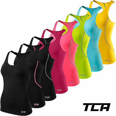 TCA Womens Pro Performance Sports Running Training Vest Tank Sleeveless Vest Top