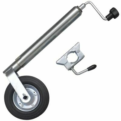 48 mm Heavy Duty Telescopic Trailer Caravan Jockey Wheel with 1 Split Clamp