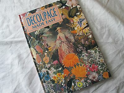 Decoupage Made Easy Craft Book Like New