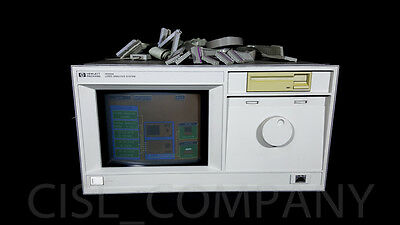 HP 16500A Logic Analysis w/Cables & Modules: 16541D (X2), 16540D, 16520A, 16521A