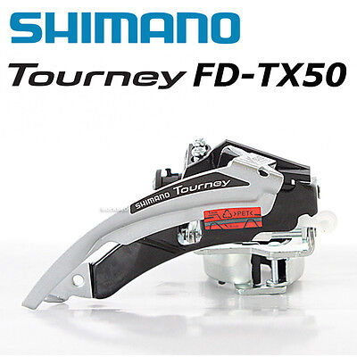 Shimano Tourney FD-TX50 Front Derailleur 6/7 Speed Mountain Bike MTB Low Clamp