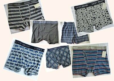 Lucky Brand I Stretch Boxer Briefs  Mens Sz S, Med, L or XL  Choose Your Design