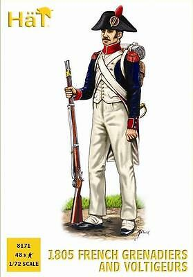 HaT 8171 1805 French Grenadiers and Voltigeurs 1:72 *NEW*
