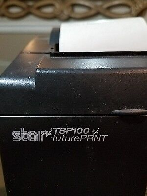 STAR Micronics TSP100  futurePRNT POS Point of Sale Thermal Receipt Printer