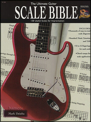 The Ultimate Guitar Scale Bible TAB Scales & Modes Book