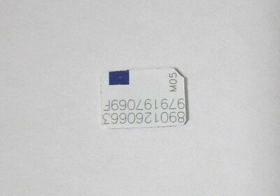 Metro PCS GSM Nano Smallest Size Phone SIM Card 4G LTE Cell Phone Bypass *GOOD*