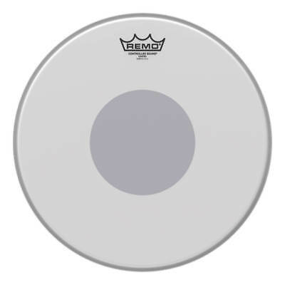 Remo CS-0114-10 14″ Controlled Sound Coated Black Dot Tom/Snare Head