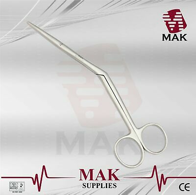 M@K Knight Heymaan Nasal Scissors 18cm Fine Quality ENT Surgical Instruments