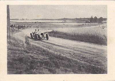 CZECH REPUBLIC; Bohdanecsky Okruh, Two Passenger Race Car, PU-1957