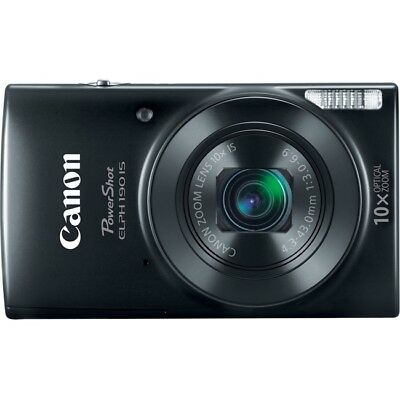 Canon PowerShot ELPH 190 IS 20 Megapixel Compact Camera PSE190ISBLK