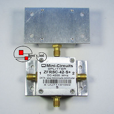 1×USED Mini-Circuits ZFRSC-42-S+ DC-4200MHz SMA 2-Way Power Splitter Combiner