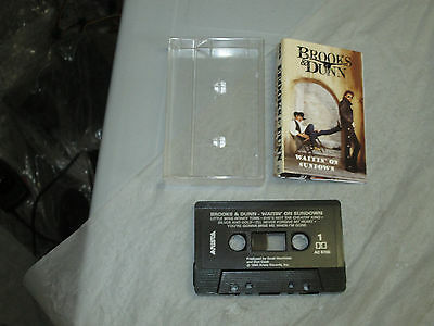 Brooks & Dunn - Waitin on Sundown (Cassette, Tape) WORKING TESTED