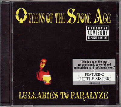 Queens of the Stone Age - Lullabies to Paralyze (2005)  CD  NEW  SPEEDYPOST