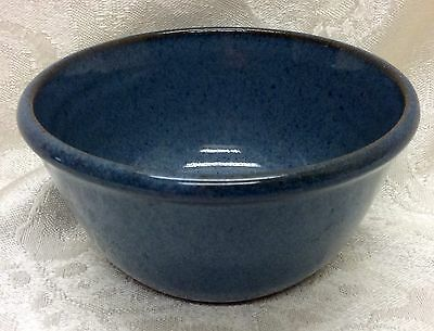 Jugtown, North Carolina Art Pottery, 1991 Marked Blue Bowl