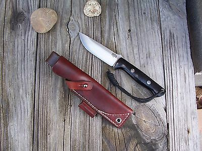 Bark River Knife & Tool Bravo 1 LF Custom Leather Bushcraft Sheath