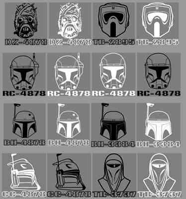 Star Wars Personalized Decals