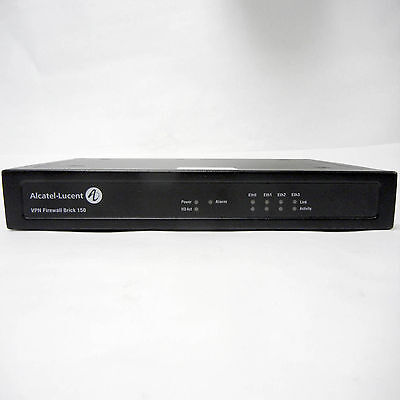 Alcatel-Lucent - Vpn Firewall Brick 150 Appliance + Power - Tested, Working