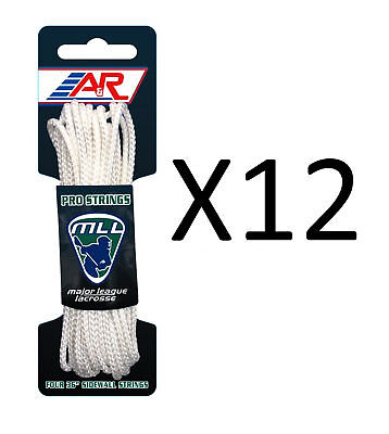 """A&R Sports Major League Lacrosse Four 36"""" Lightweight Sidewall String (12-Pack)"""