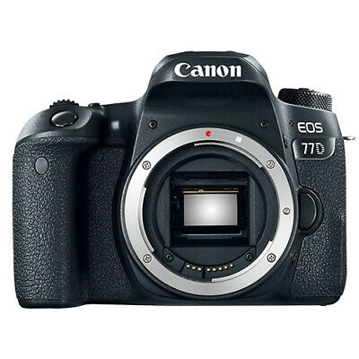 Canon EOS 77D 24.2MP Digital SLR Camera Body