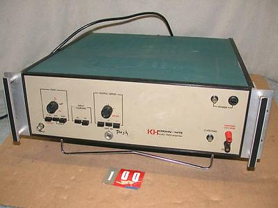 Krohn-Hite 7500 Solid State DC to 1MHz 75W Wideband Power Amplifier