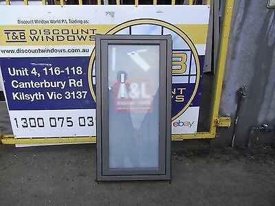Aluminium Awning Window 1200H X 0610 W (Item 2861/7) Woodland Grey